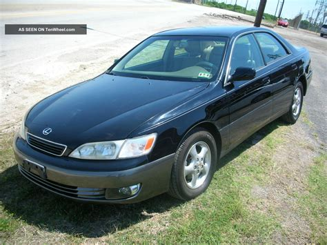 2000 Lexus Es300 Base Sedan 4 Door 3 0l