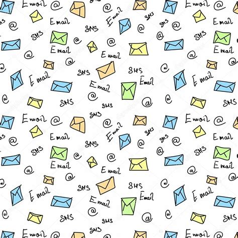 wallpaper chat sms seamless pattern letter sms e mail symbols texture and