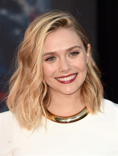 clavicut haircut avengers age of ultron elizabeth olsen talks scarlet