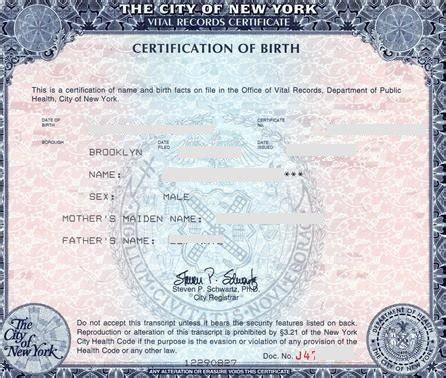 web design certificate new york birth certificate new york sle choice image