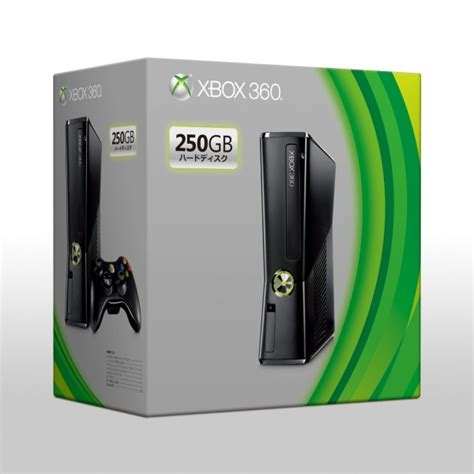 xbox 360 slim 250gb xbox360 250gb slim import from japan