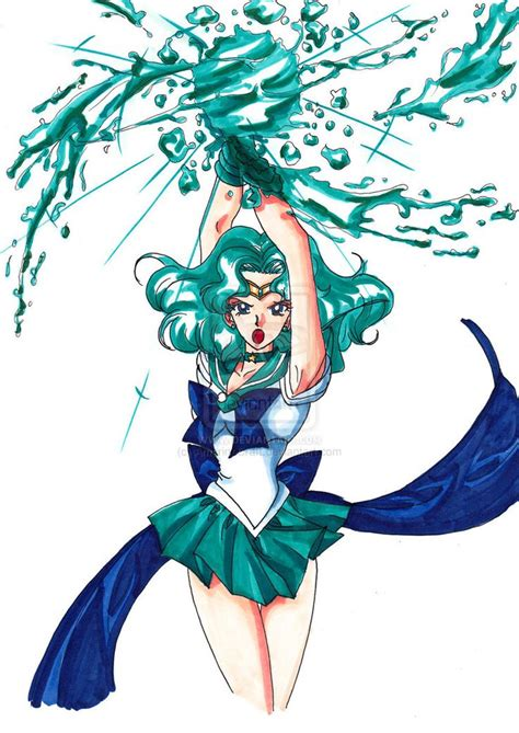 sailor neptune sailor neptune attack by amarinecraft on deviantart
