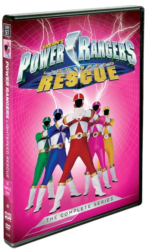 out of space and time volume 1 series 1 power rangers lightspeed rescue the complete series