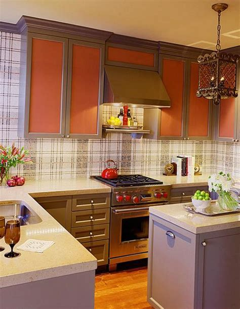 modern wallpaper for small kitchens beautiful kitchen