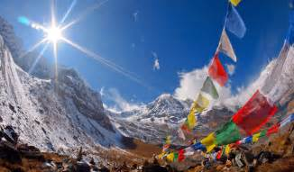 Many people have noticed how the prayer flags seem to quickly uplift