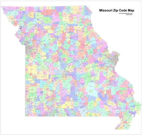 zip code map kansas city missouri zip code map kansas map