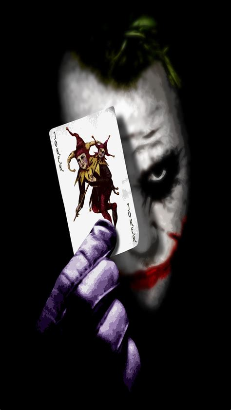 joker card wallpaper  iphone