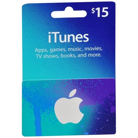 Itunes Gift Card Balance - apple itunes 15 gift card blue walgreens