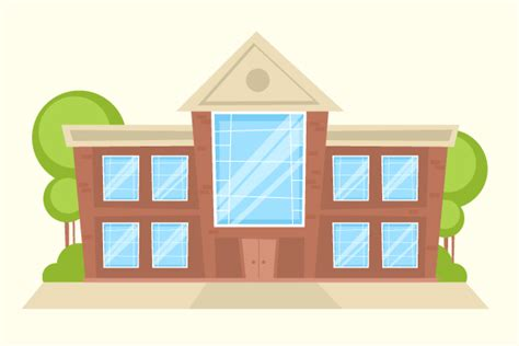 Tips For Designing A House by Create A Fancy Cartoon Building In Adobe Illustrator Vectips