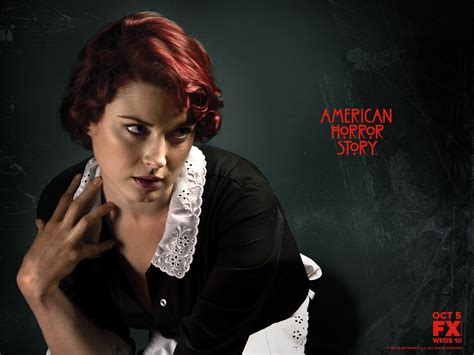 tv shows similar to american horror story ahs season 1 cast moira o hara american horror story wallpaper 1600x1200 46844