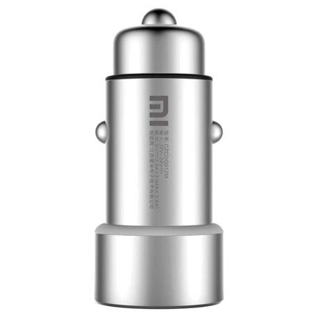 Charger Usb Silver xiaomi mi car charger dual usb silver specifications