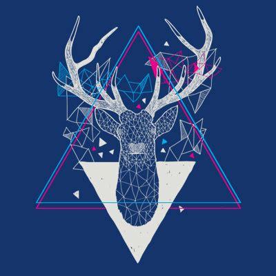imagenes hipster illuminati deer triangle design municipal triangle pinterest