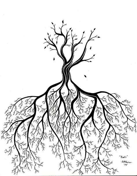 roots by rufftherian on deviantart