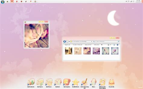 download themes for windows 7 cute january 2010 screenshot by cappippuni on deviantart