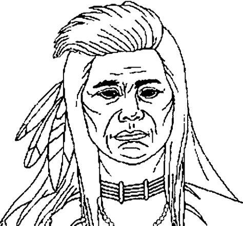 imagenes para colorear indigenas dibujos para colorear de los indios waraos imagui