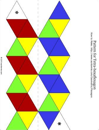 How To Make A Paper Hexaflexagon - 25 best flextangles images on paper toys