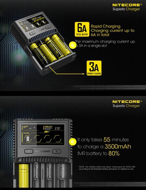 Nitecore Charger Baterai 4 Slot Li Ion Nimh Sc4 nitecore charger baterai 4 slot li ion nimh sc4 black jakartanotebook