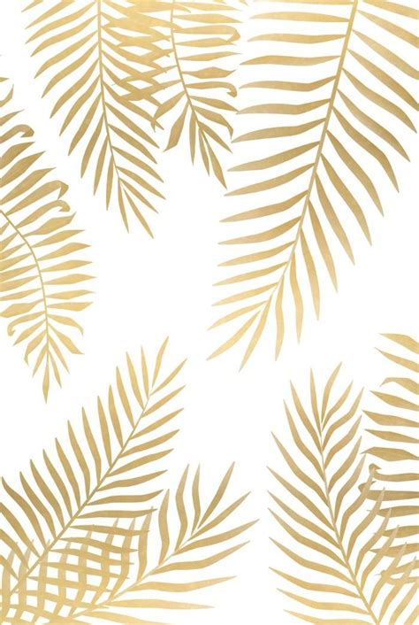 cute pattern wallpaper pinterest gold palm leaves art print cute prints patterns design