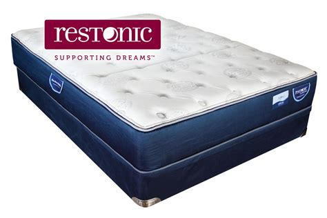 restonic comfort care select restonic 174 comfort care select crescent plush queen mattress