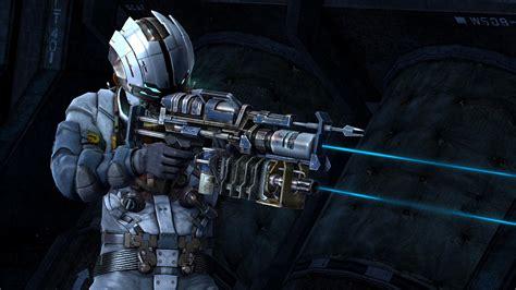 dead space 3 bench dead space 3 gameplay trailer weapon crafting features video yell magazine