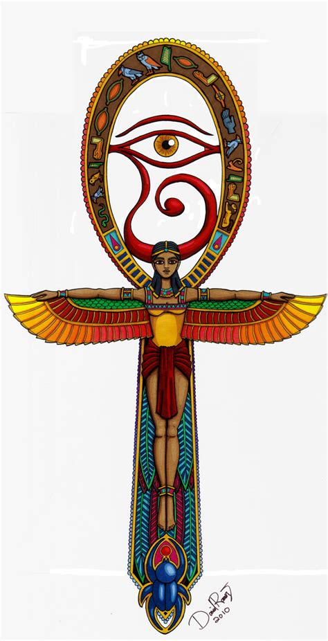 egyptian cross tattoos ankh by coquijams on deviantart