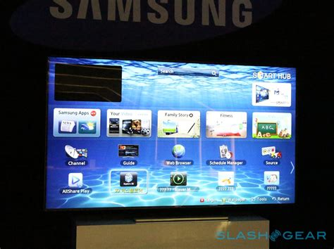 samsung 75 inch es9000 hdtv on slashgear