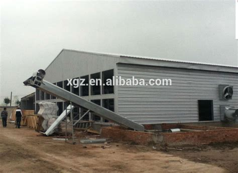 Poultry Shed Construction by Chicken Egg Poultry Farm Poultry House Livestock Chicken