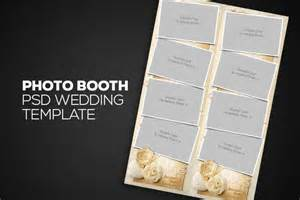 Photo Booth Template Psd by Photobooth Psd Wedding Template Templates On Creative Market