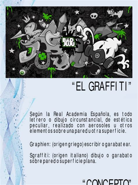 diapositivas graffitispdf graffiti arts general