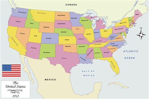 Map Oof Usa by Map Of Usa Free Large Images