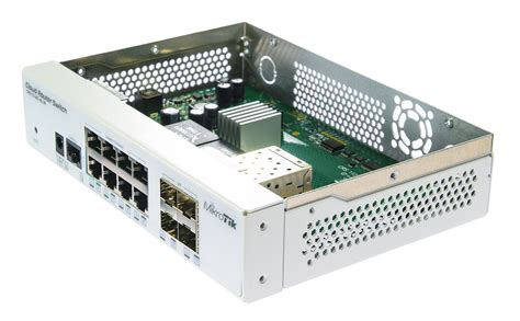 Mikrotik Crs112 8g 4s In Cloud Router Switch Layer3 8port Gigabit 4sfp mikrotik cloud router switch crs112 8g 4s in