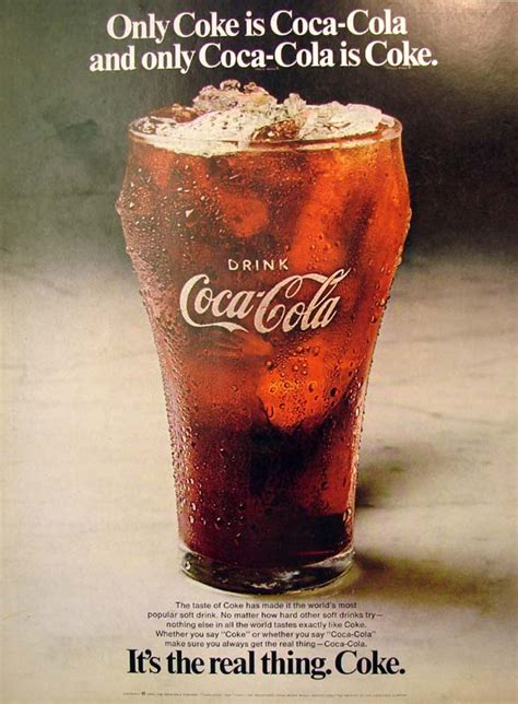 Coke Is The Real Thing For Andy by It S The Real Thing Coke 7 1970