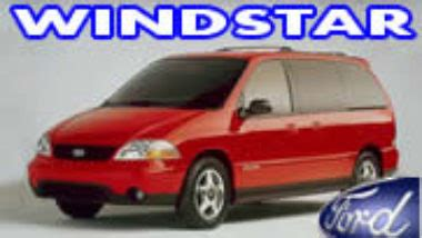 Manual De Reparaci 243 N Ford Windstar 1999