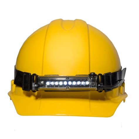led hard hat light foxfury to showcase defense and security lighting tools at