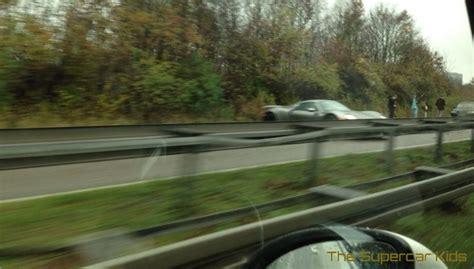 porsche 918 crash someone s already crashed a porsche 918 spyder on the autobahn