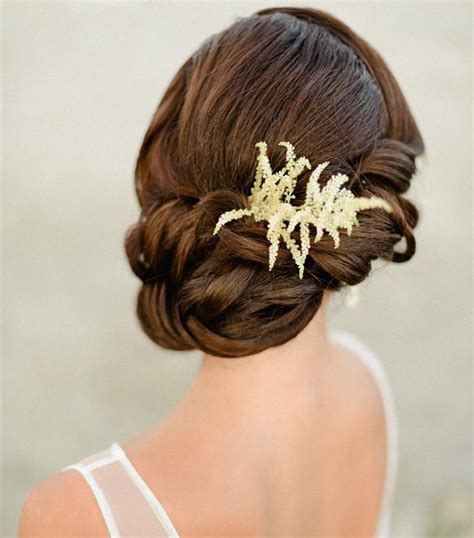 Easy Bridal Hairstyles For Hair by 30 Wedding Hairstyles Ideas Designs Design