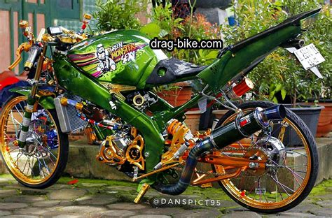 gambar foto contest modifikasi motor jupiter drag autos post