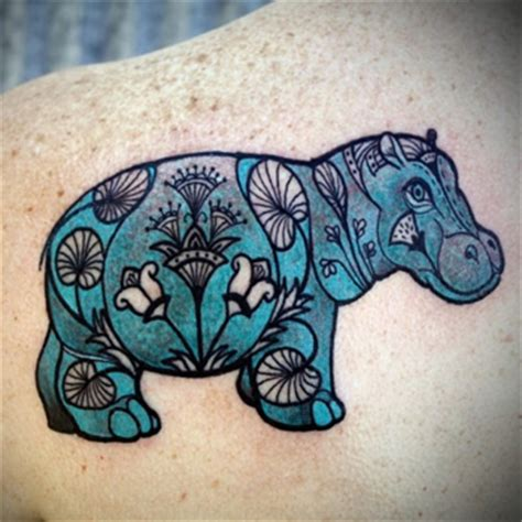 hippo tattoo designs wing designs for models picture