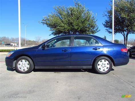 eternal blue pearl 2003 honda accord lx sedan exterior