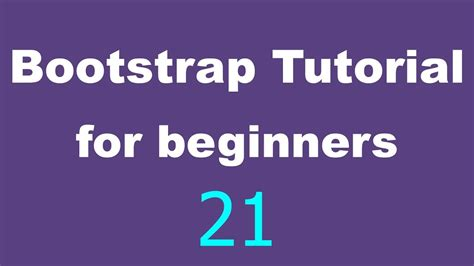 bootstrap tutorial icons bootstrap tutorial for beginners 21 glyphicons