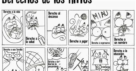 imagenes para colorear sobre los derechos de los niños pinto dibujos derechos de los ni 241 os para colorear