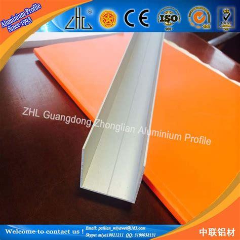 Harga Aluminium U Channel 6063 t5 aluminium u channel ukuran disesuaikan aluminium u