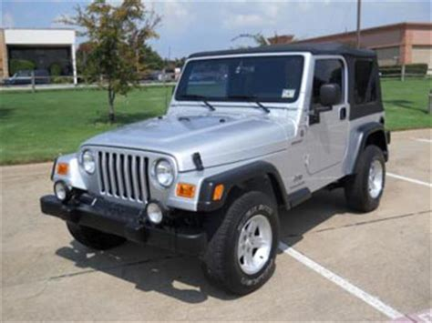Jeep Wrangler Sport Used For Sale 2004 Jeep Wrangler Sport 4x4 For Sale