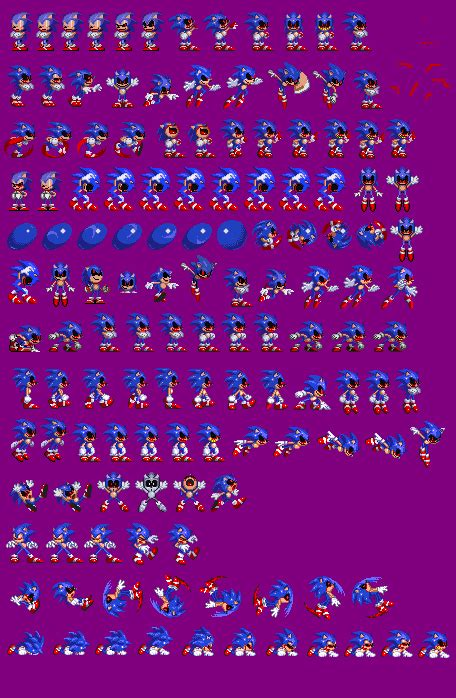 sonicexe sprites complete  warchieunited  deviantart