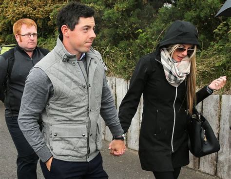 rory mcilroy engaged to girlfriend erica stoll rory mcilroy pictured with new girlfriend erica stoll