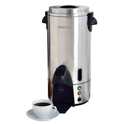 Sigmatic Coffee Maker 100 Ss focus 54100 100 cup coffee urn stainless