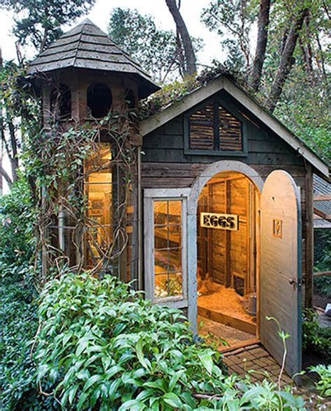 20 Pretty Chicken Coop Designs Stay At Home Mum Cool Garden Shed Ideas