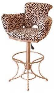 Leopard Print Bar Stools by Leopard Vanity Stool Foter