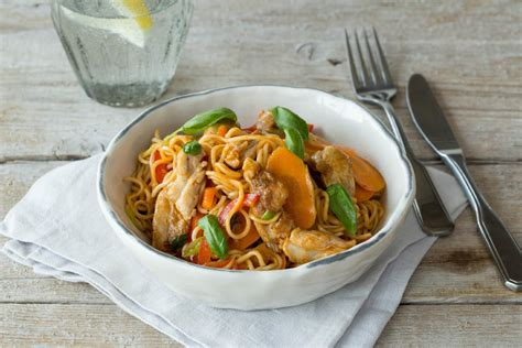 Noodles And Company Gift Card Balance - chicken hokkien noodle stir fry recipe hellofresh