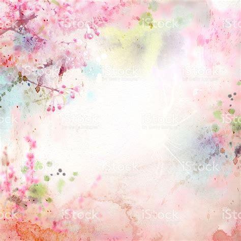 Formal Flower Garden - watercolor painting natural background stock vector art 477549154 istock